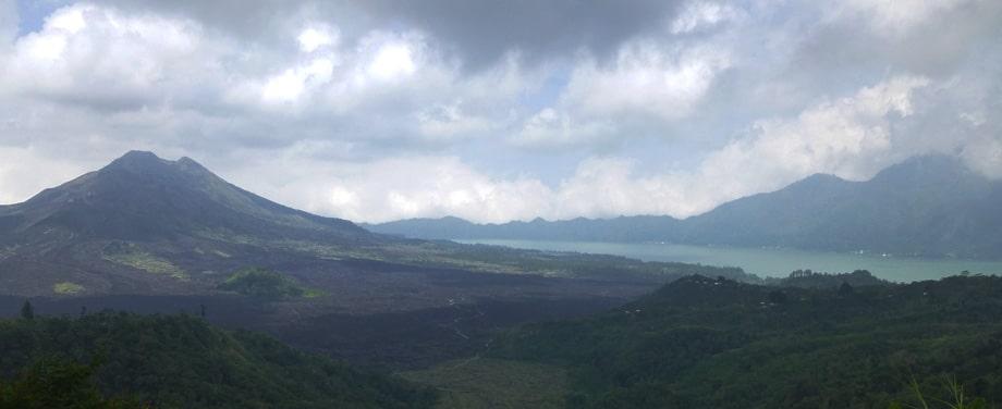 Mount Agung, Lake Batur, Mount Abang in Bali