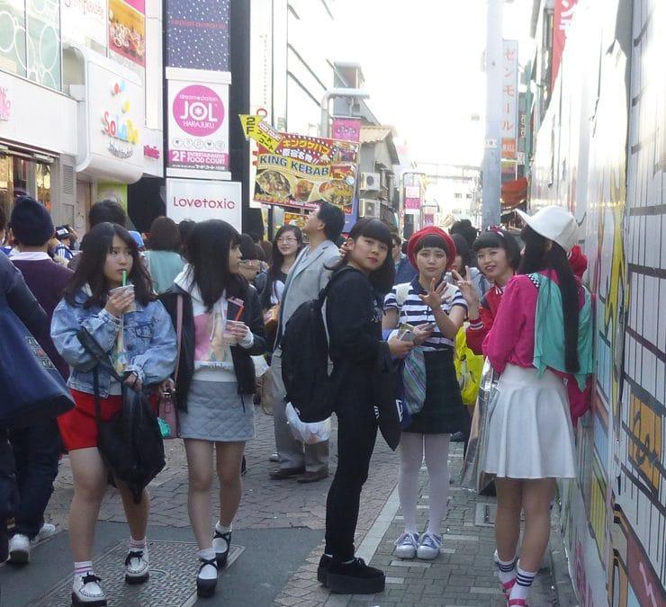 Cosplay Girls in Harajuku
