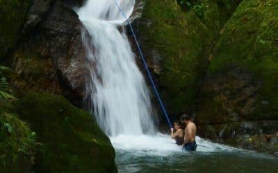 Secret Waterfall in Costa Rica