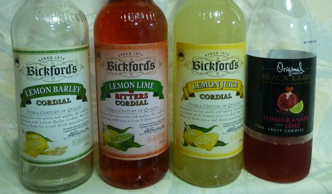 Selection of Cordials