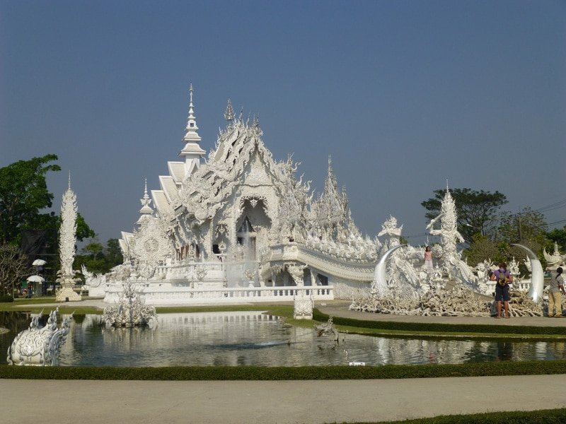 A Trip to the White Temple in Chiang Rai and the Golden Triangle